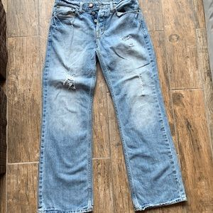 Men's American Eagle Distressed Demin Jeans